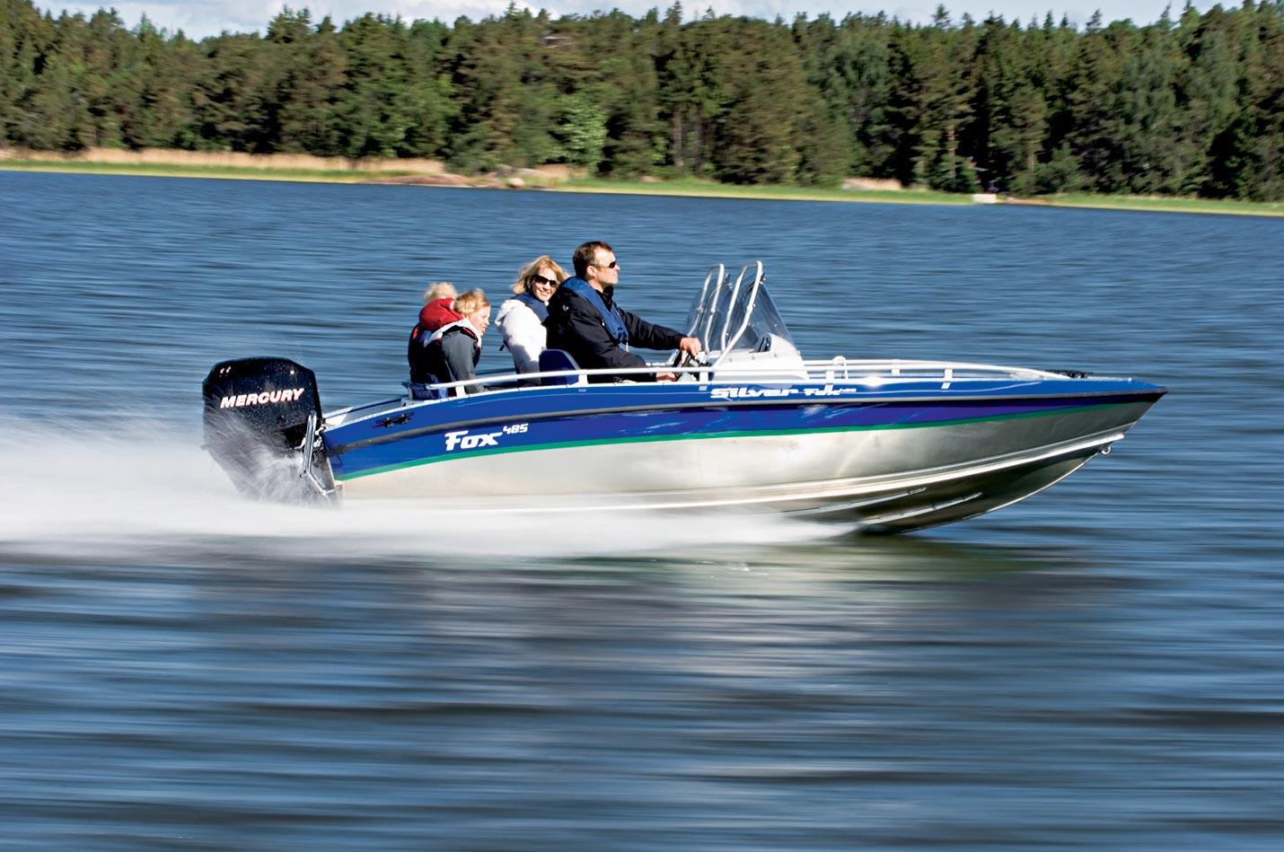 Silver Boats Fox R 485 (Pêche Promenade)