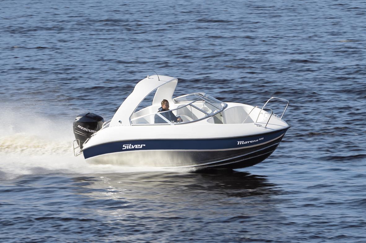 Silver Boats Moreno 620 (Pêche Promenade)