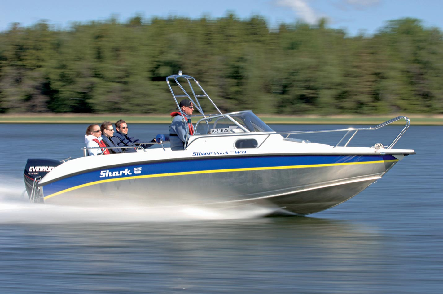 Silver Boats Shark WA 605 (Pêche Promenade)