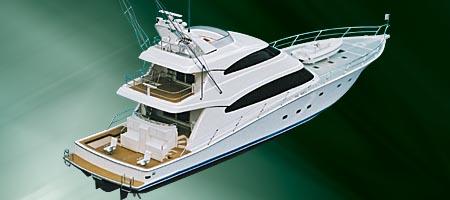 Sovereign Yachts Sports Fisherman (Pêche)