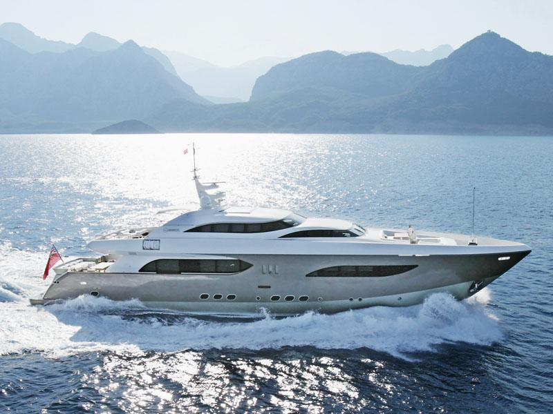 Tamsen Yachts 41 m taTii (Motor Yacht)