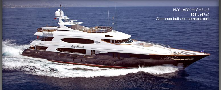 Trinity Yachts <strong>Lady Michelle</strong> (Motor Yacht)