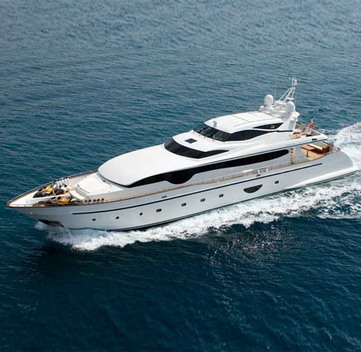 Versilcraft Planet 120 HT <strong>Choo Choo</strong> (Fly / Motor Yacht)
