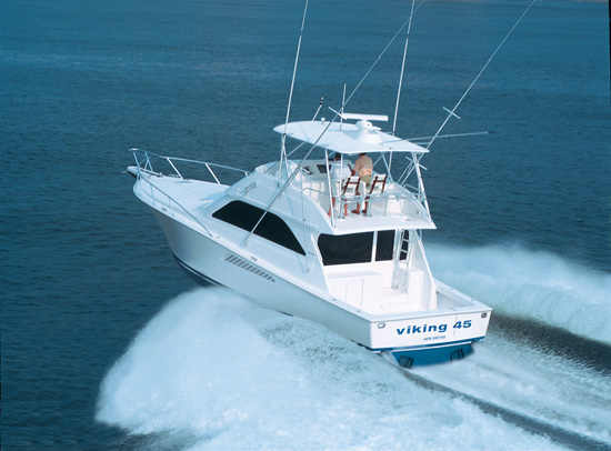 Viking Yachts 45 Convertible (Fisher)