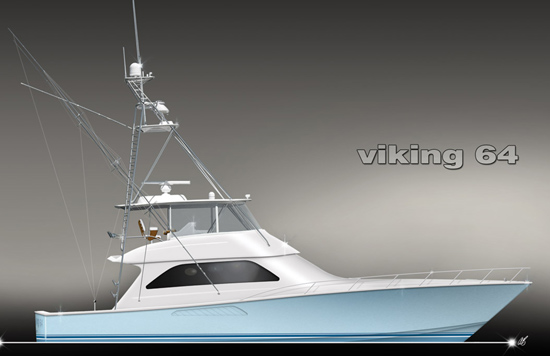 Viking Yachts 64 Convertible (Fisher / Motor Yacht)